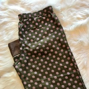 Banana Republic Silk Pants NWT